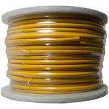 Yellow 22 Gauge Instrument/Guitar Cable Cord - 100 Meter Spool