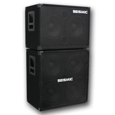 bass guitar speaker cabinets 1x15 2x10 4x8 3x10 4x10 2x15 etc seismic audio speakers. Black Bedroom Furniture Sets. Home Design Ideas