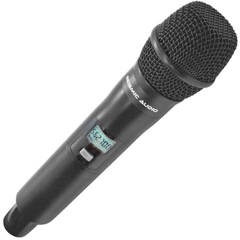 SA-U2HH-2 - Dynamic Wireless Handheld Microphone for use with 2 Channel Wireless Mic System