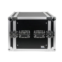SA-PTR-10U - 10 Space Pro Audio DJ Road Rack Case - Pro Tour Grade