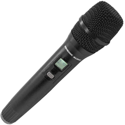 SA-U4HH-2 - Dynamic Wireless Handheld Microphone for use with 4 Channel Wireless Mic System