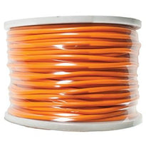 Orange 22 Gauge Instrument/Guitar Cable Cord - 100 Meter Spool