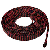 Expandable Braided Cable Sleeve Tubing Cord Sock - Various Sizes and Colors