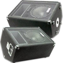 "FL-10MP - Pair of Premium 10"" PA Floor Monitors with Titanium Horns"