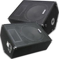 "FL-15MP - Pair of Premium 15"" PA Floor Monitors with Titanium Horns"
