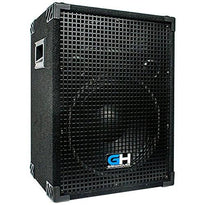 Grindhouse Speakers - GH12L - Passive 12 Inch 2-Way PA/DJ Loudspeaker Cabinet - 700 Watt Full Range PA/DJ Band Live Sound Speaker