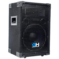 Grindhouse Speakers - GH10L - Passive 10 Inch 2-Way PA/DJ Loudspeaker Cabinet - 600 Watt Full Range PA/DJ Band Live Sound Speaker