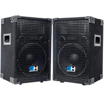 Grindhouse Speakers - GH10L - Pair of Passive 10 Inch 2-Way PA/DJ Loudspeaker Cabinets - 600 Watt Full Range PA/DJ Band Live Sound Speakers