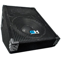 GH12M - 12 Inch Passive Wedge Monitor - Floor or Stage 350 Watts RMS - PA/DJ Stage, Studio, Live Sound Monitor
