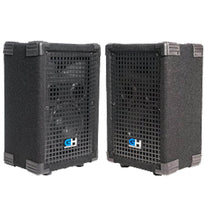 GH5L - Pair of Passive 5 Inch 2-Way PA/DJ Loudspeaker Cabinets - 300 Watt Full Range PA/DJ Band Live Sound Speakers