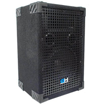Grindhouse Speakers - GH8L - Passive 8 Inch 2-Way PA/DJ Loudspeaker Cabinet - 500 Watt Full Range PA/DJ Band Live Sound Speaker