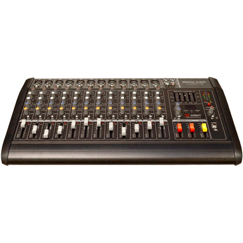 LandSlide 12P - 12 Channel DSP Professional Powered Mixer