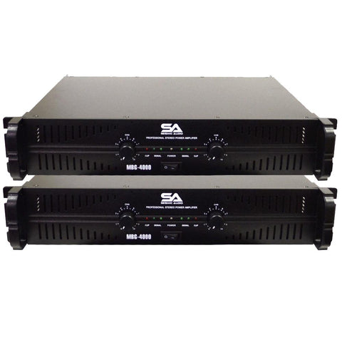 MBG-4000 Power Amplifier (Pair)