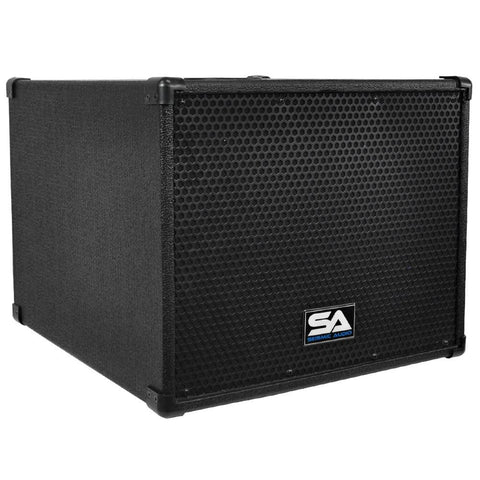 "SA-12PS - Powered Compact 12"" Pro Audio Subwoofer Cabinet"