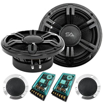 SA-65SET01 - Pair of 6.5 Inch 300 Watt 2-Way Component Speaker System with Crossover Network