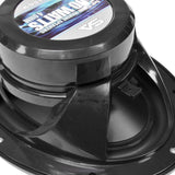 SA-MS69B - Pair of 500 Watt 6 x 9 Inch 2-Way Waterproof Boat/Marine Speakers - 1000 Watts Total