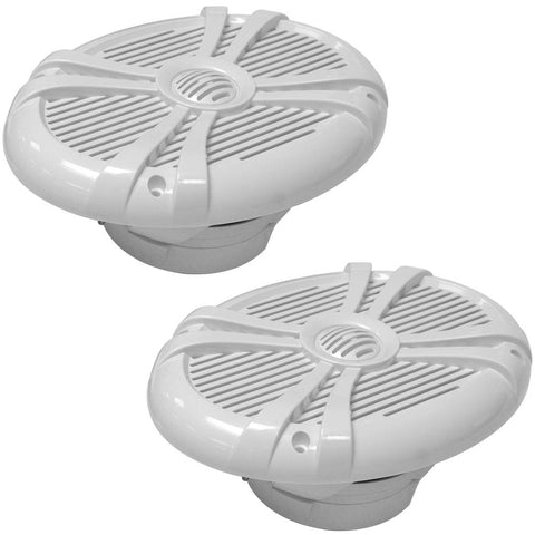 SA-MS69W - Pair of 500 Watt 6 x 9 Inch 2-Way Waterproof Boat/Marine Speakers - 1000 Watts Total