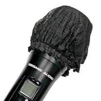 SA-MicDC - 100 Pairs of Disposable Universal Microphone Covers - Fits Standard O and U Shaped Mics - 200 pcs Total