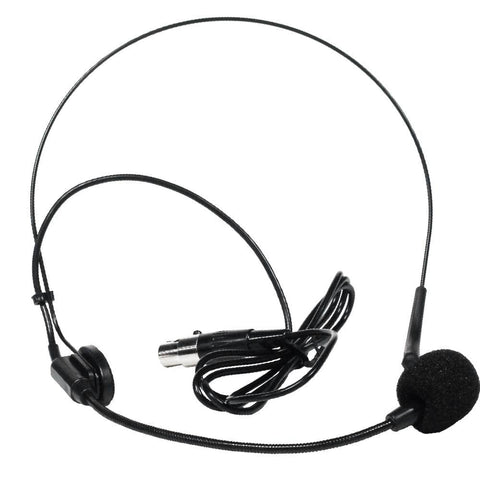 SA-U24BHS - Black Headset Microphone for Wireless Mic Systems