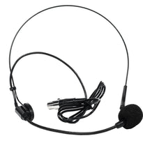 SA-U24BHS-2 - Black Headset Microphone for Wireless Mic Systems