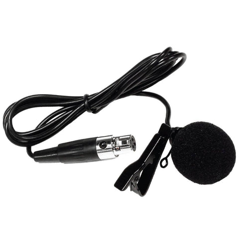 SA-U24LV - Lavalier Microphone for Wireless Microphone System - Lapel, Clip On