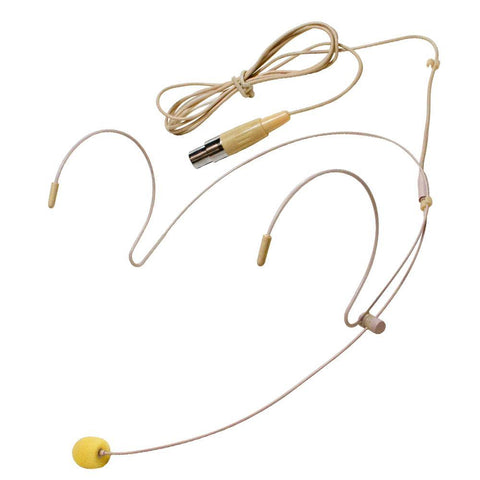 SA-U24SCHS-2 - Beige Headset Microphone for Wireless Mic Systems
