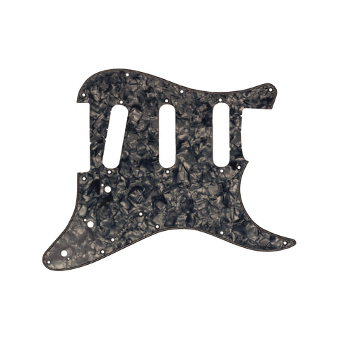 Silver Tortoiseshell 3 Ply Strat Style Pickguard for Standard Strat Electric Guitar