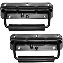 Pair of Black Spring Loaded Speaker Handles