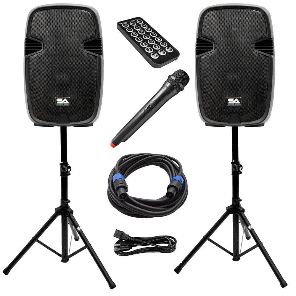 Powered 15 Inch All In One Pa System Powered 15 Inch Pa