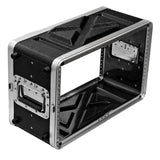 SALWR6S - Lightweight 6 Space Compact ABS Rack Case - 6U PA DJ Shallow Rack Case