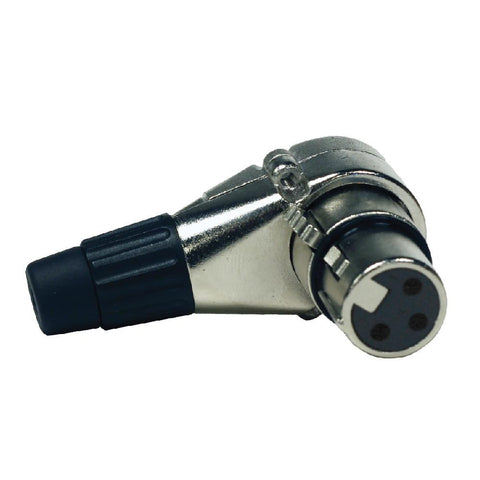 SAPT325 - Adjustable Right Angle 3 Pin XLR Female Connector