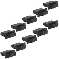 SAPT530 - 10 Pack of Black HDMI Male Dust Covers - HDMI Port Protectors