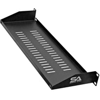 "SARCS-10 - 1 Space Vented Server Shelf - 1U Rack Mount Case Shelf - 6"" Deep"