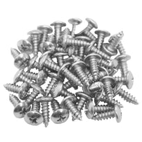 SARHW02 - 50 Pack of 1/2 Inch Wood Screws Phillips Head PA DJ Speaker Repair