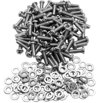 SARHW15 - Pack of 100 Screws and Washers for Rack Case Rails Phillips Head for PA/DJ Gear