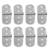 SARHW20 - Set of 8 Chrome 1.5 Inch Rack Case Clamp for PA DJ Rack Road ATA Case 4 Hole Mount