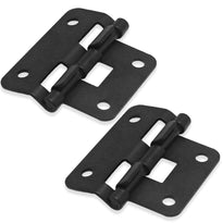SARHW23 - 2 Pack of Black 2 Piece Lift Off Hinges for PA/DJ Gear
