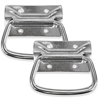 SARHW24 - 2 Pack of Chrome Surface Mount PA DJ Chest Case Handles Pulls