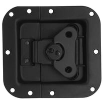 SARHW34 -  Black Recessed Spring Loaded Butterfly Latch for PA DJ Rack Road Pedal Board Case