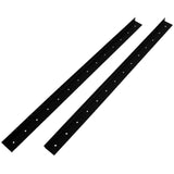 SARHW44 - Pair of 24.5 Inch 14 Space Rack Case Rails for PA DJ Rack Road ATA Case - Full Hole