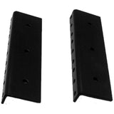 SARHW46 - Pair of 5.25 Inch 3 Space Rack Case Rails for PA DJ Rack Road ATA Case - Full Hole