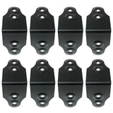 SARHW49 - Set of 8 Large 2 Inch Black Rack Case Clamp for PA DJ Rack Road ATA Case