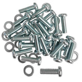SARHW01 - Pack of 25 Screws and Washers for Rack Rails Phillips Head for PA/DJ Gear