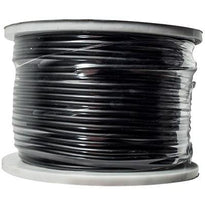 Black 22 Gauge Instrument/Guitar Cable Cord - 100 Meter Spool
