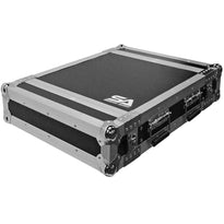 SATAC2U - Heavy Duty 2 Space ATA Rack Case - 2U Vertical PA DJ Amplifier Case