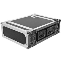 SATAC4U - Heavy Duty 4 Space ATA Rack Case - 4U PA DJ Flight Case
