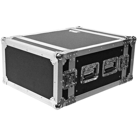 SATAC6U - Heavy Duty 6 Space ATA Rack Case - 6U PA DJ Flight Case