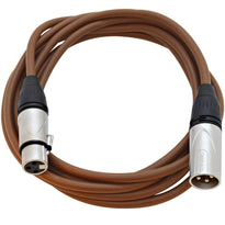 SAXLX-10 - Brown 10 Foot XLR Patch Cable