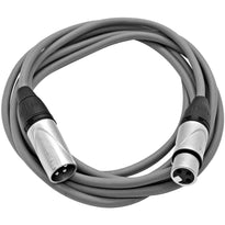 SAXLX-10 - Gray 10 Foot XLR Patch Cable