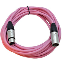 SAXLX-25 - Pink 25 Foot XLR Microphone Cable